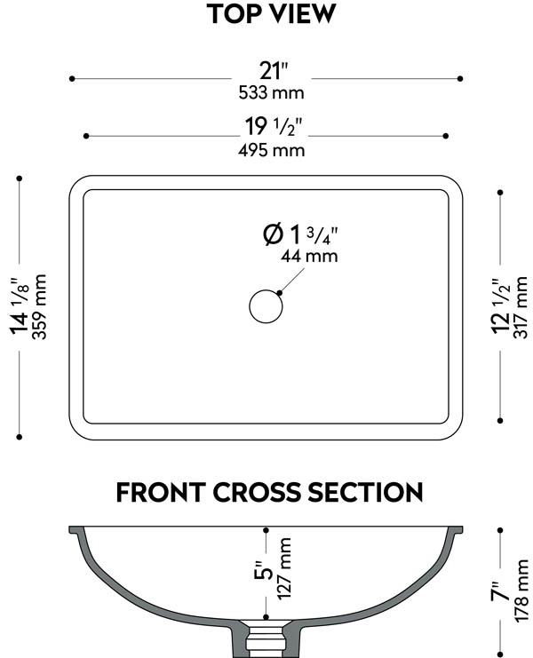 Sinks - Corian® solid surfaces, Corian®